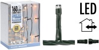 Koppelbare IJspegelverlichting - 160 LED - 3m - warm wit