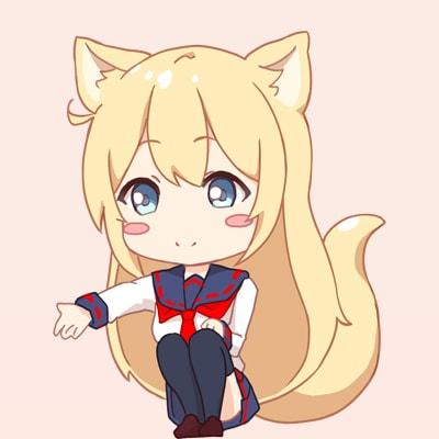 コン狐との日常 Twitterアイコン5