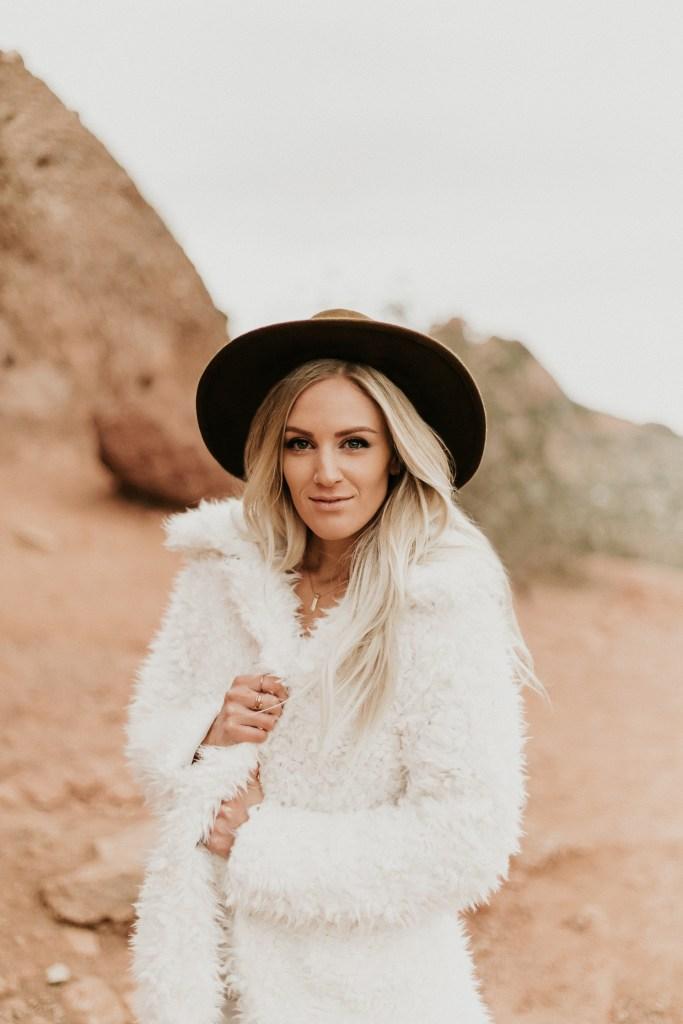 Megan Claire Photography | Arizona Wedding Photographer. Boho desert portrait photoshoot. @meganclairephoto