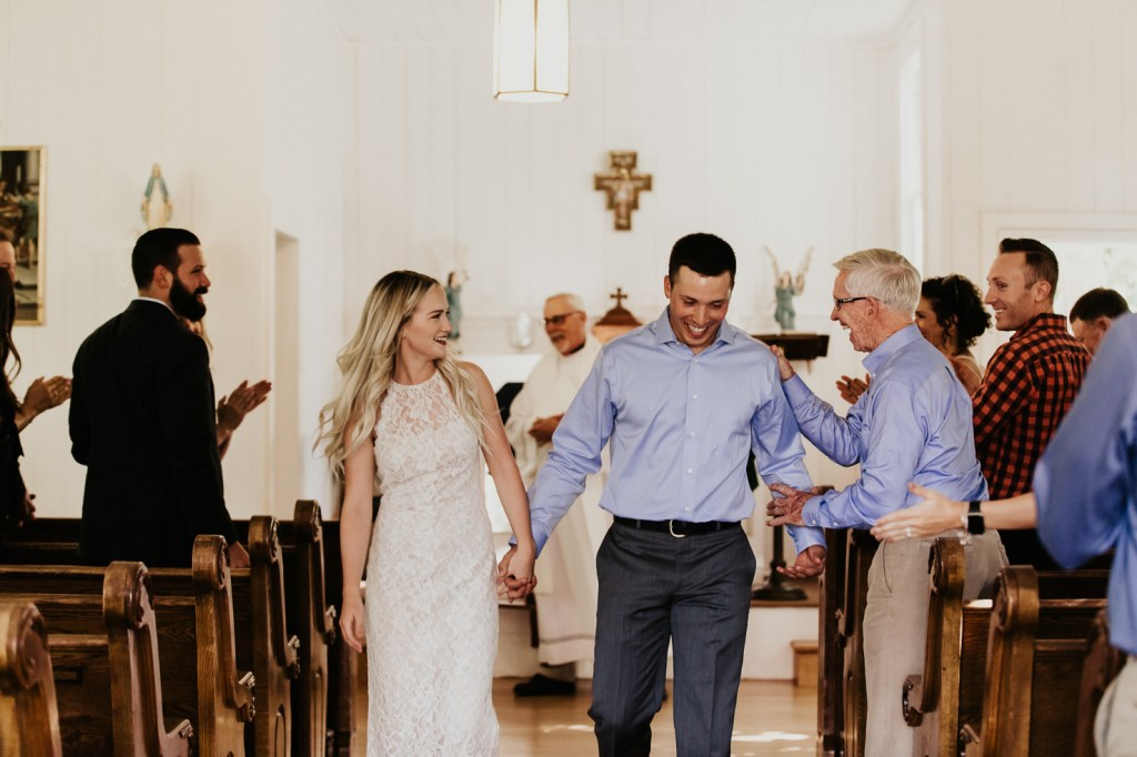 Megan Claire Photography | Northern California Wedding Photographer. Simple elegant catholic chapel wedding @meganclairephoto