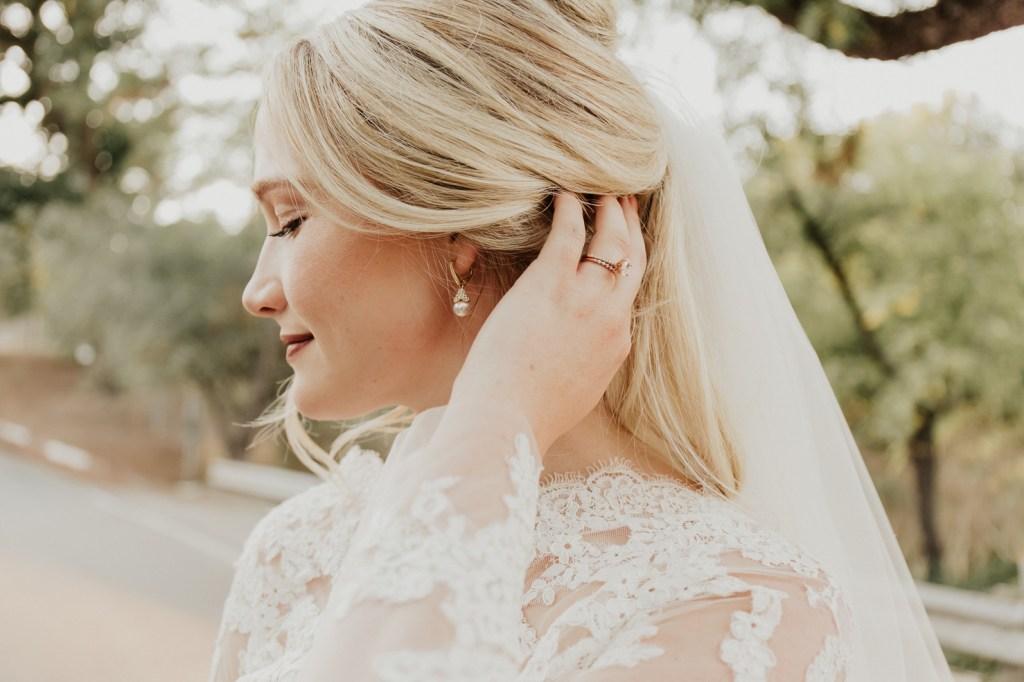 Megan Claire Photography | Northern California Wedding Photographer. Outdoor fall wedding bridal portraits @meganclairephoto