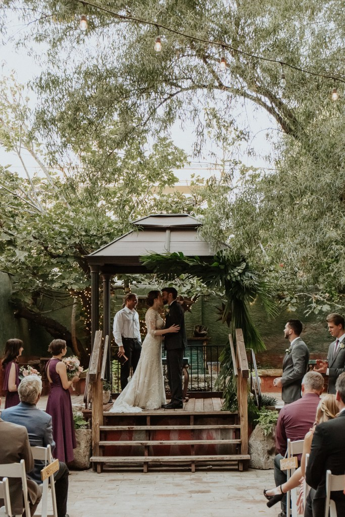 Megan Claire Photography | Arizona Wedding Photographer. Vintage inspired greenhouse arboretum wedding. @meganclairephoto