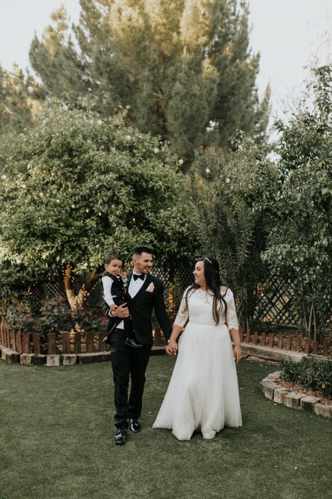 Megan Claire Photography | Arizona Wedding Photographer. Beautiful church wedding. Bride  and Groom portraits at the elegant barn in Gilbert, Arizona
