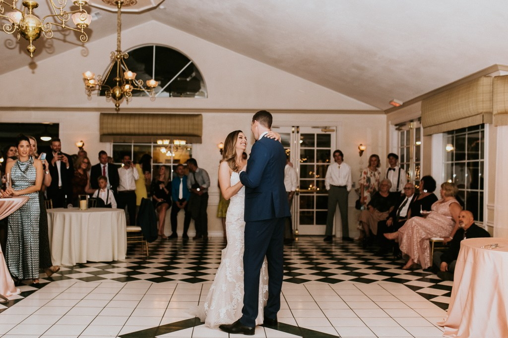 Megan Claire Photography | Arizona Wedding Photographer. Beautiful summer wedding in the desert at the Wright House in Mesa, Arizona. Bride and groom first dance photos