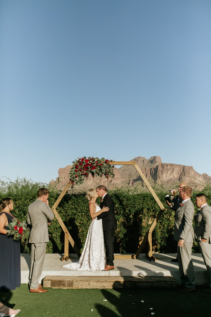 Megan Claire Photography | Arizona Wedding Photographer. Beautiful fall wedding in the desert at the Paseo in Apache Junction, Arizona near superstition mountains. @meganclairephoto