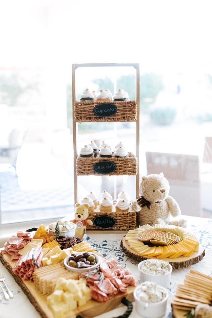 Megan Claire Photography | Phoenix Arizona Maternity and Newborn Photographer. Winnie the Pooh Baby Shower. Boy Baby Shower Ideas @meganclairephoto