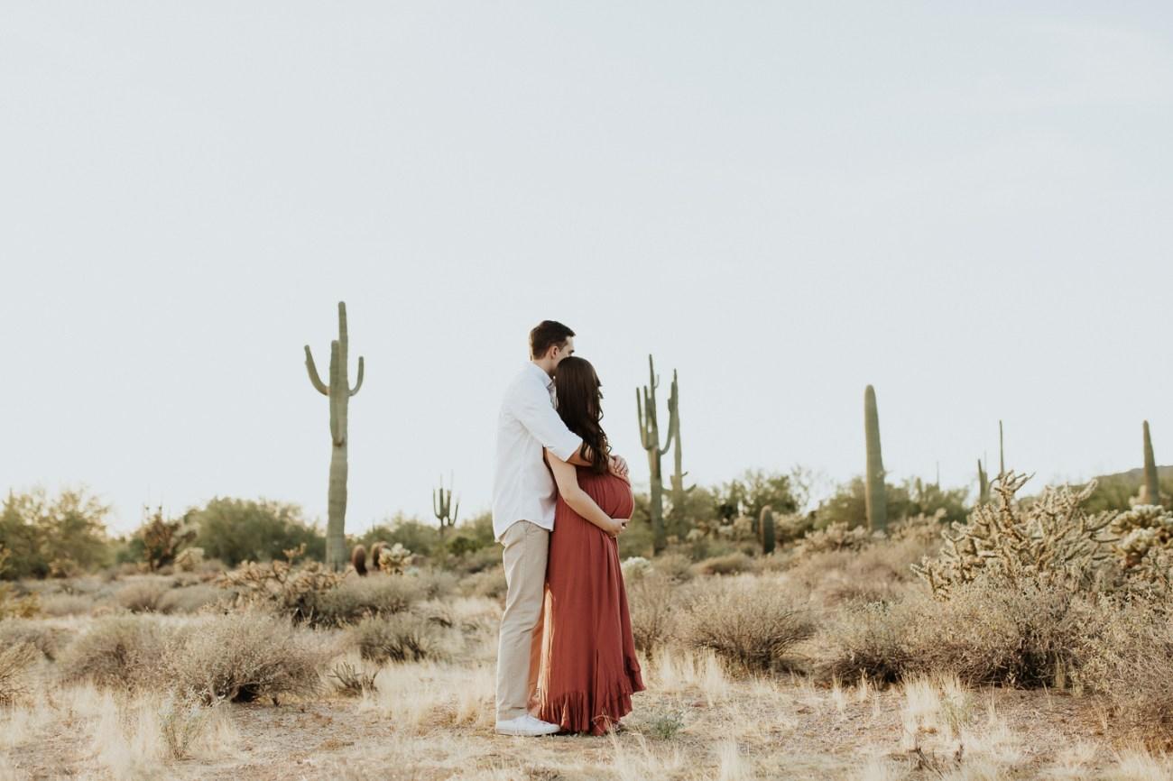Megan Claire Photography | Phoenix Arizona Maternity and Newborn Photographer. Arizona desert maternity photo session @meganclairephoto