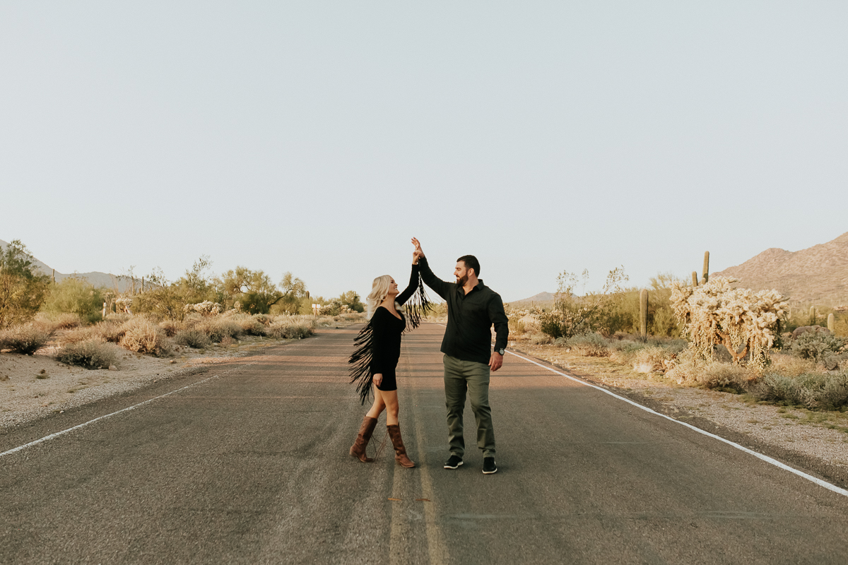Megan Claire Photography | Arizona Wedding and Engagement Photographer. Megan-Claire.com Arizona desert engagement session. Arizona Engagement session inspiration. @meganclairephoto