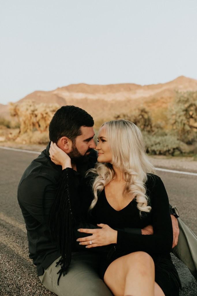 Megan Claire Photography | Arizona Wedding and Engagement Photographer. Megan-Claire.com  Arizona desert engagement session. Arizona Engagement session inspiration. @meganclairephoto