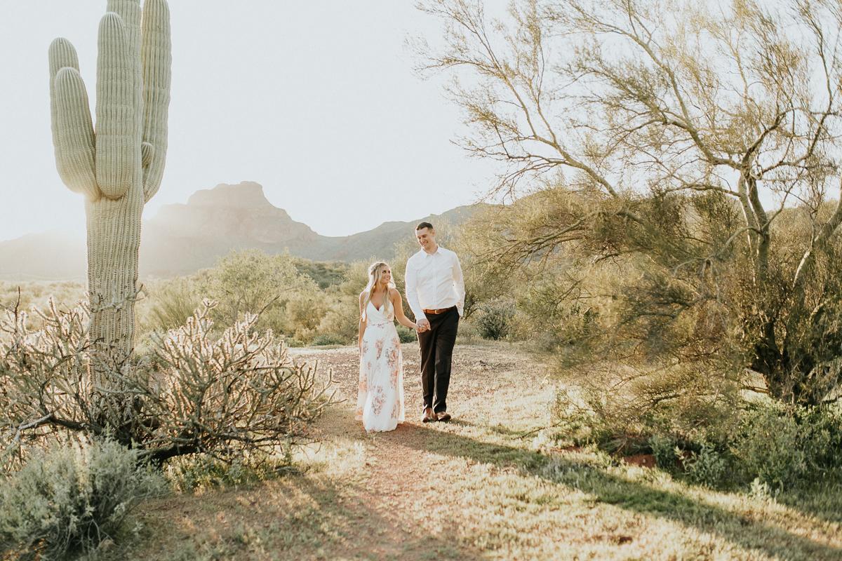 Megan Claire Photography | Arizona Wedding and Engagement Photographer.  phoenix arizona desert engagement photoshoot @meganclairephoto