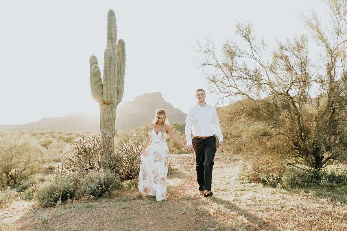 Megan Claire Photography | Arizona Wedding and Engagement Photographer. phoenix arizona desert engagement photoshoot @meganclairephoto Megan-claire.com