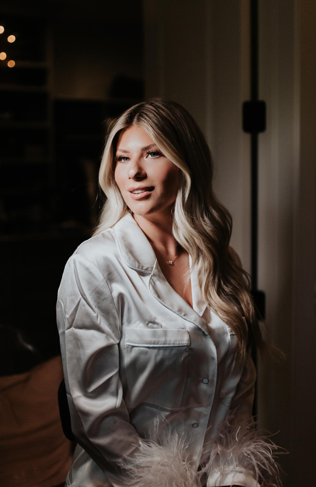 Megan Claire Photography | Arizona Wedding Photographer. Jaylee Merrill's Pajama Themed Bridal Shower @meganclairephoto