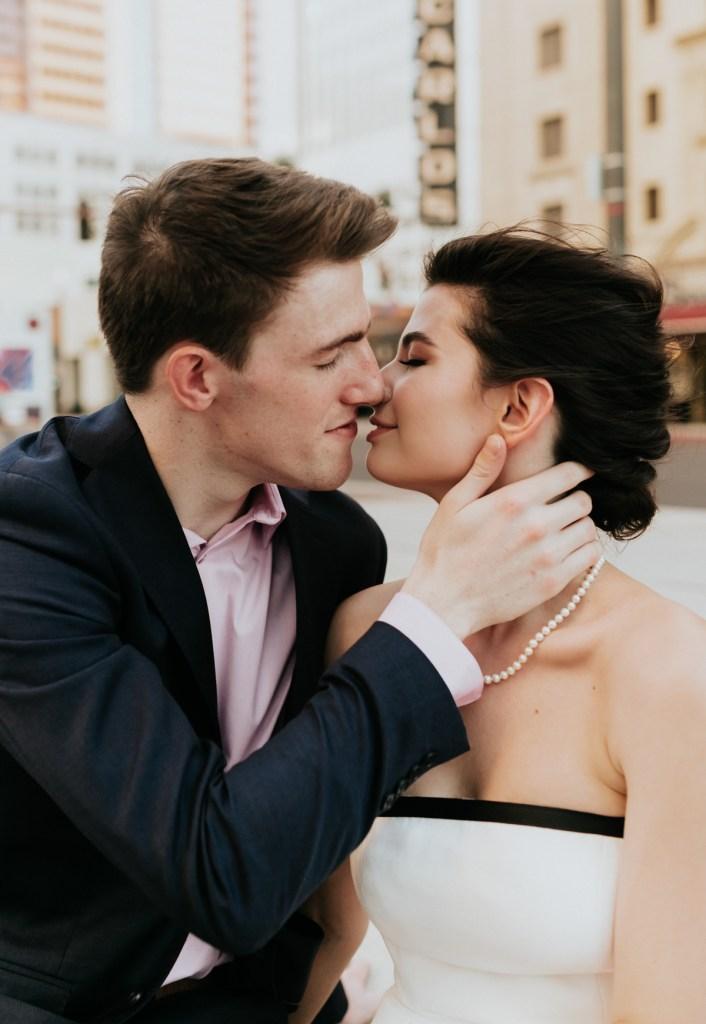 Megan Claire Photography | Phoenix Arizona Courthouse Wedding , Art Deco inspired wedding, vintage inspired wedding, arizona elopement photography, intimate wedding inspiration