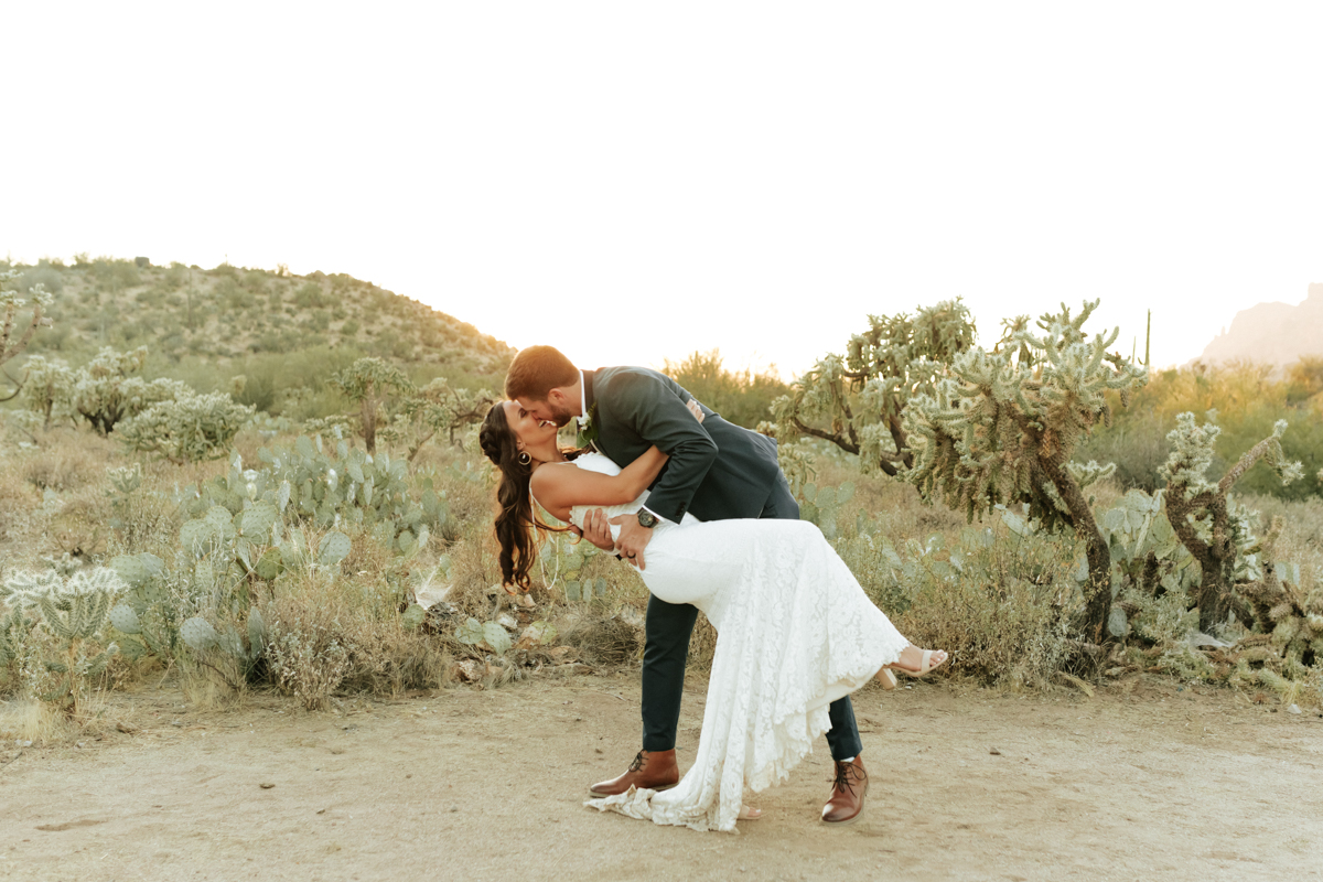 Megan Claire Photography | Boho Desert Wedding at Superstition Mountains