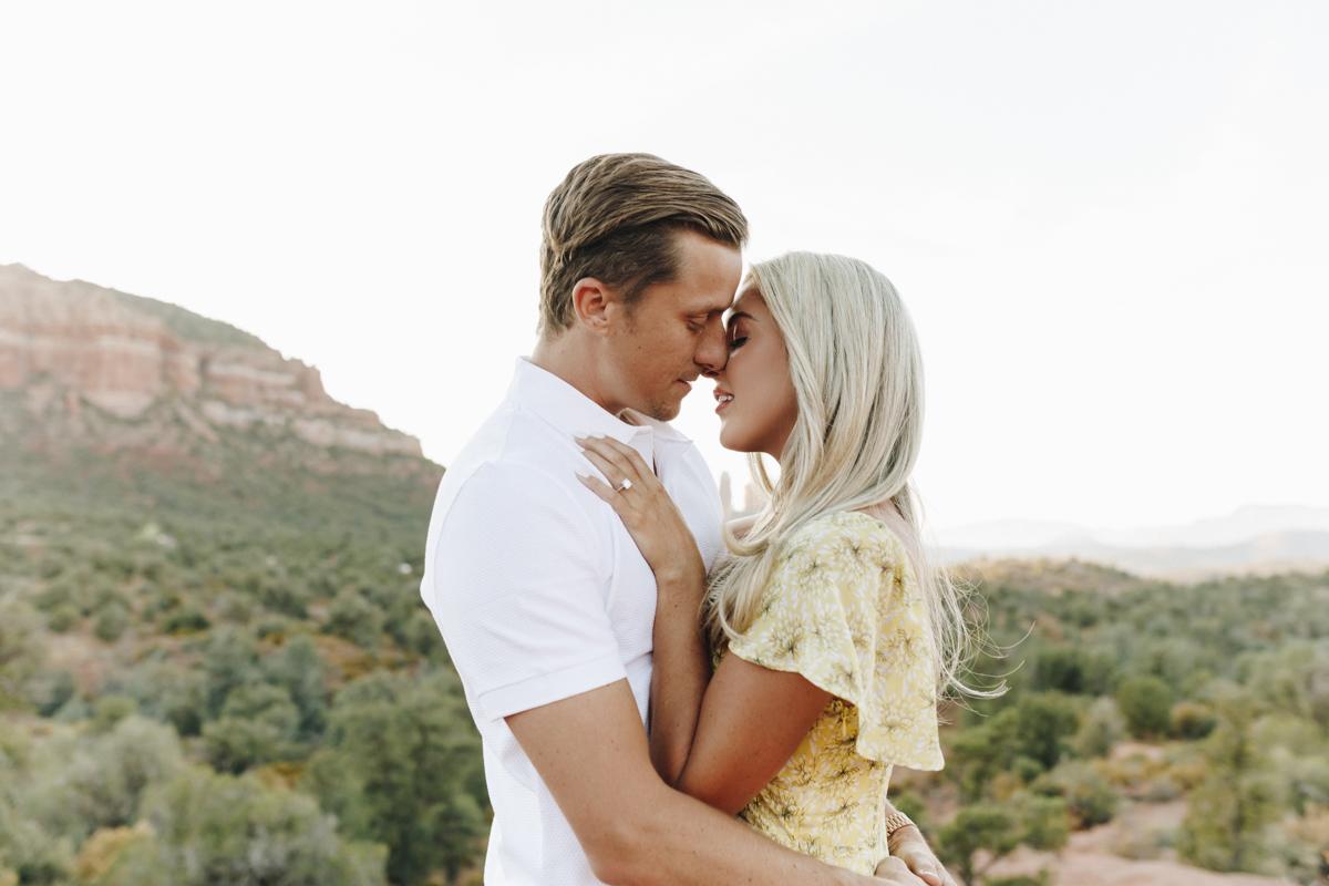 Megan Claire Photography | Adventurous Sedona Engagement Session