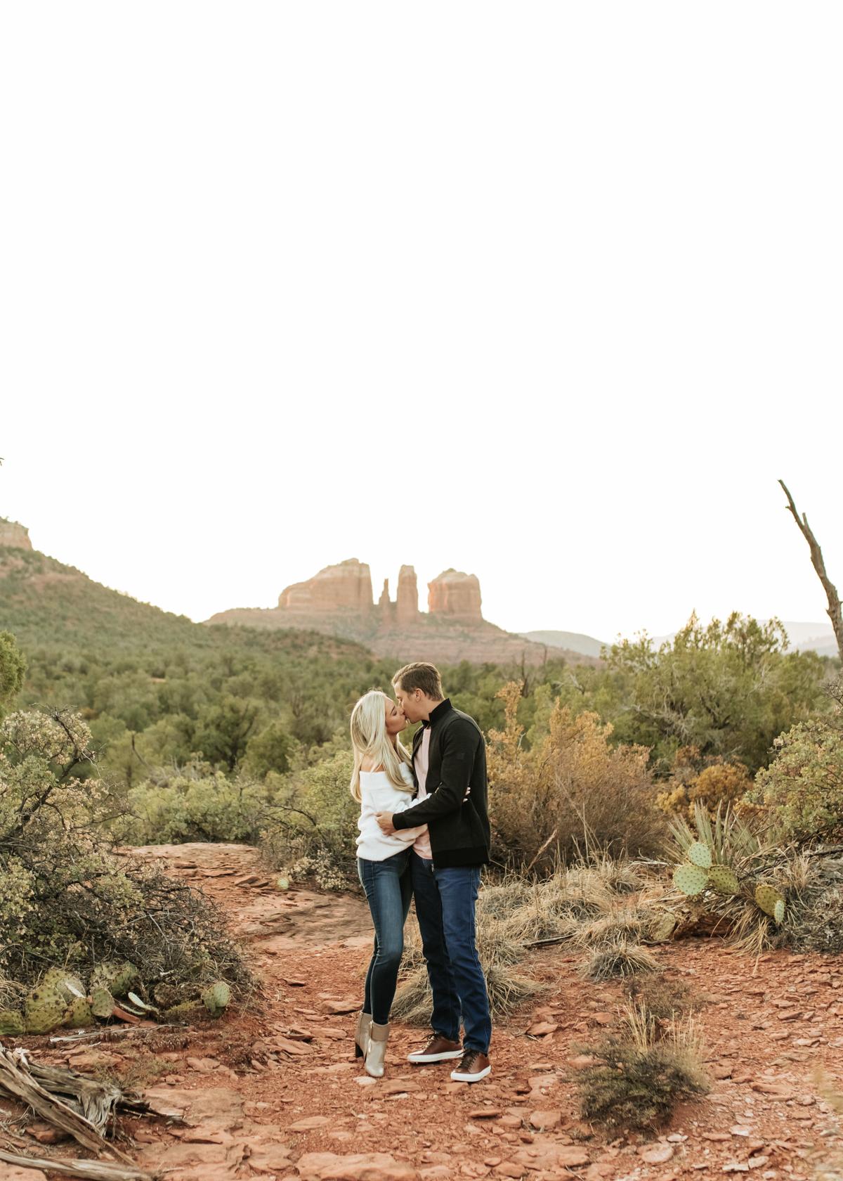 Megan Claire Photography | Adventurous Sedona Arizona Engagement SessionMegan Claire Photography | Adventurous Sedona Arizona Engagement Session