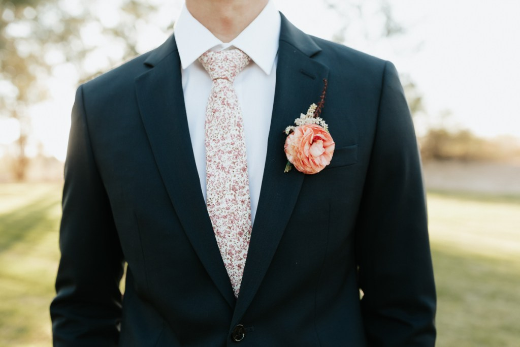 Megan Claire Photography | Arizona Elopement and Intimate Wedding Photographer.  Faith filled elopement at St. Ann's Chapel in Tucson, Arizona. Groom Wedding Portraits