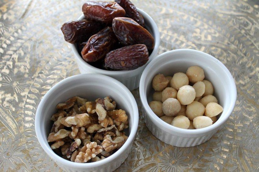 raw dessert ingredients