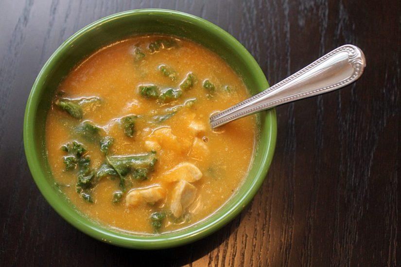 butternut cauliflower soup