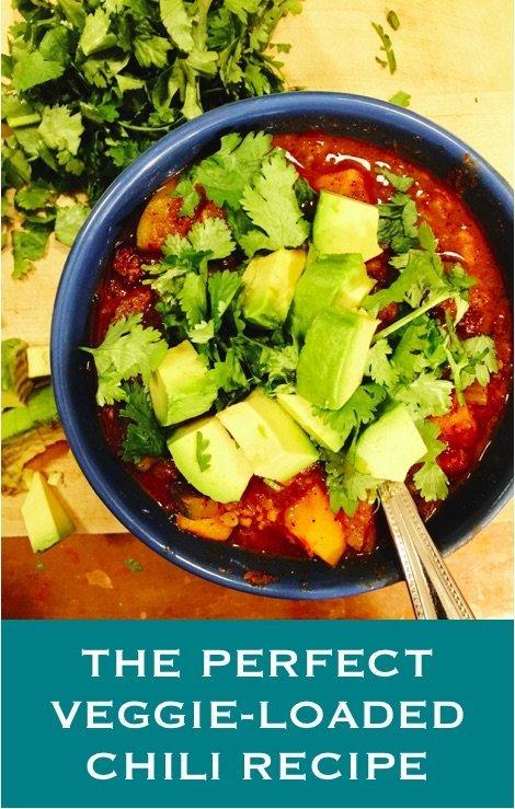 the perfect veggie-loaded chili recipe