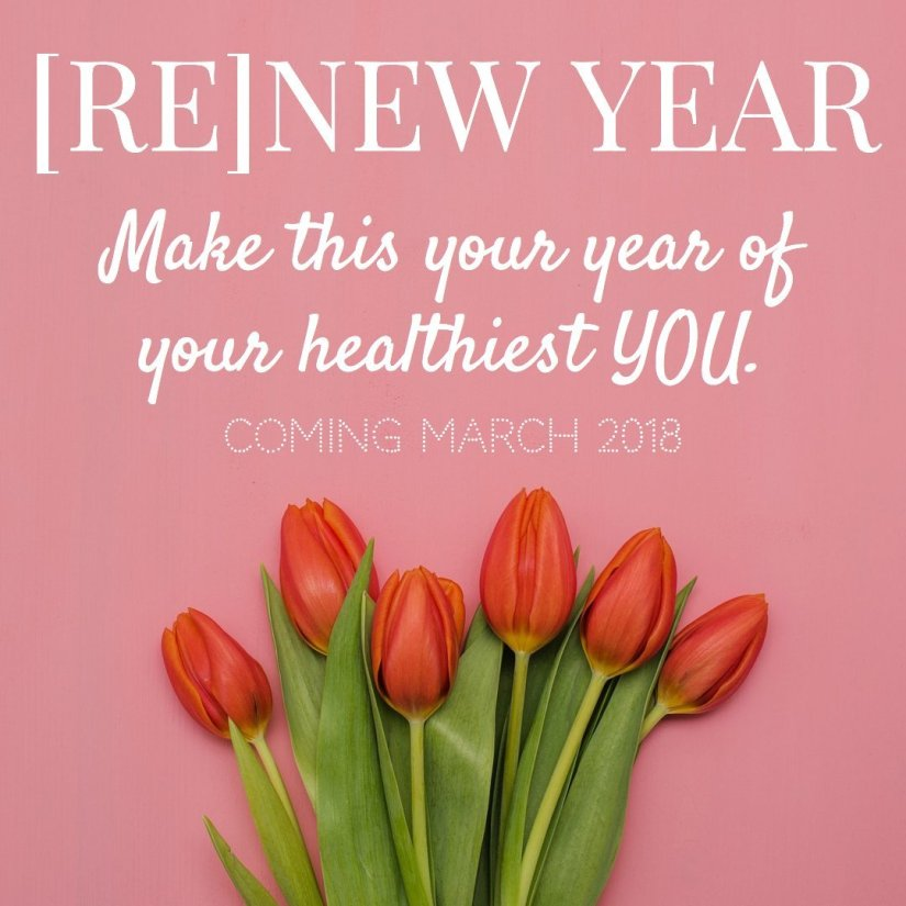 make 2018 your year of your healthiest you