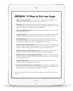 10 ways to eat less sugar preview