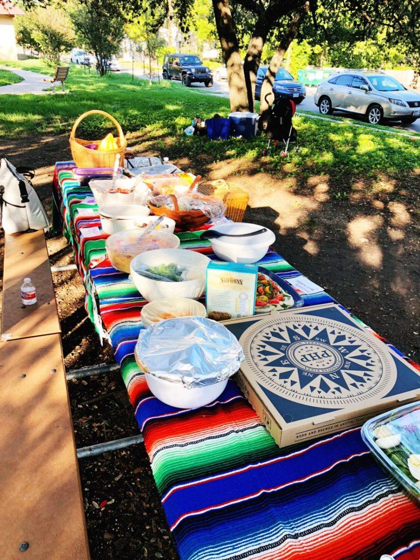 potluck in the park - meganadamsbrown.com