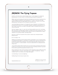 the flying trapeze preview