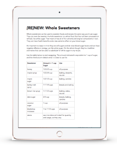 whole sweetners preview