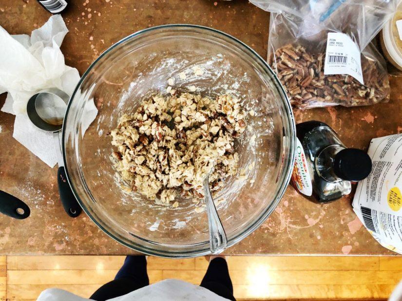 crust or crumble mixture