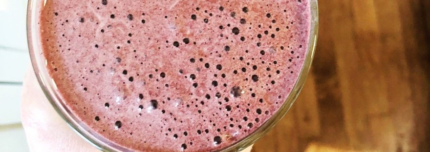 breakfast ideas - simple smoothie