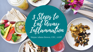 3 steps to eat away inflammation