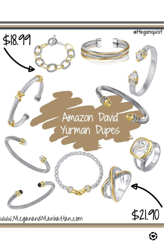 David Yurman Dupes