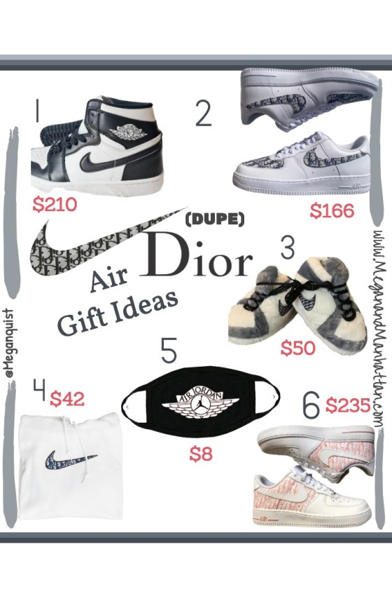 Air Jordan Dior Dupe Gift Ideas Under $50 | Under $100 | Under $200