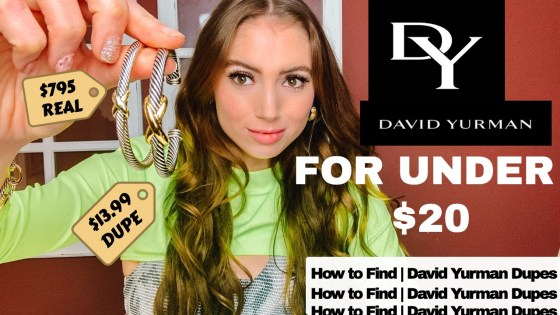 David Yurman Dupes Youtube
