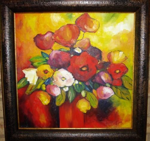 Fiery flowers (2008)