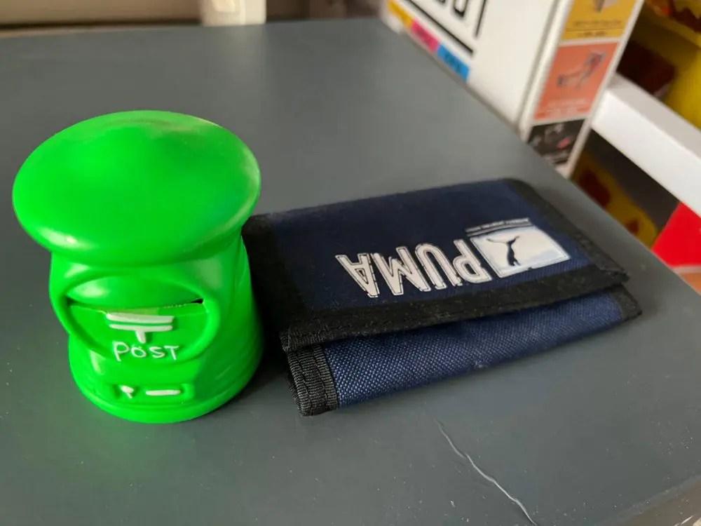 貯金箱とお財布