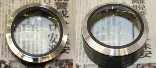 5倍の拡大鏡、LEDランプ内蔵、固定焦点