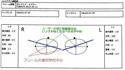 レンズ設計図11004