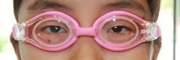 強度近視水中メガネ