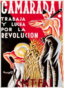 Socialist Poster During the Spanish Civil War