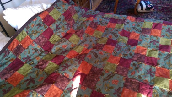 Finally! This quilt has a home!