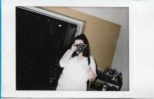 Meg polaroid