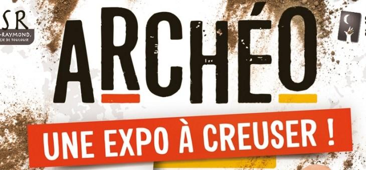 Exposition «Archéo une expo à creuser» à Toulouse