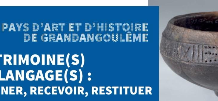 Conférence «L'art mégalithique au Néolithique …» – Université en Angoumois