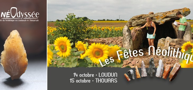 Rendez-vous en Loudunais et en Thouarsais les 14 et 15 octobre 2017
