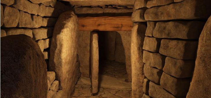 Visite virtuelle du dolmen de la Motte de la Jacquille, Fontenille (16)