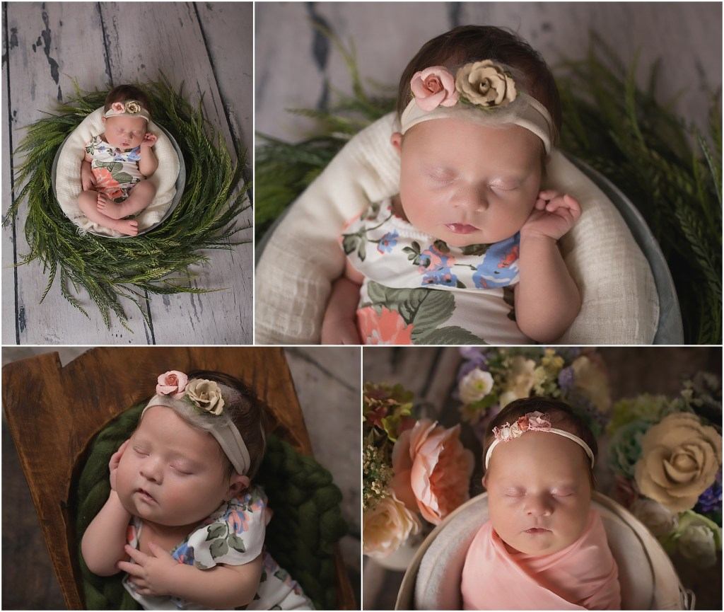 I typically do newborn sessions at but sweet baby girl was a little delayed coming home from the hospital the wait was absolutely worth it