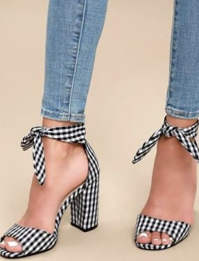 All about Gingham for Spring 2018