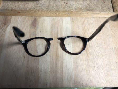 セルフレームブリッジ折れ修理 | メガネ修理のタムラはメガネ ...
